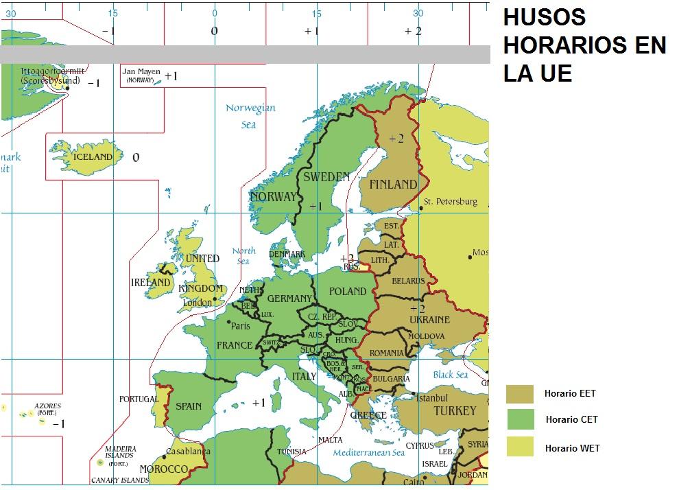 horario en francia: