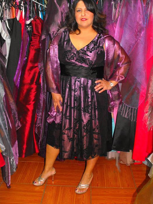 vestido cocktial talla 46
