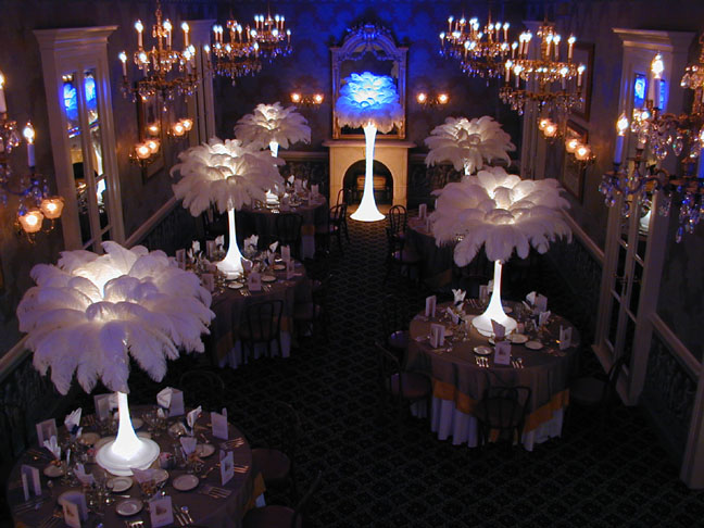 Aqua Blue Decorations