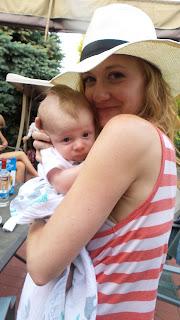 newborn, bbq, fun fourth of july