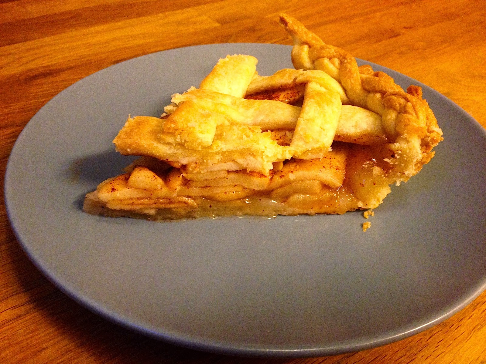 lattice crust homemade apple pie recipe