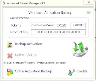 cara backup product key windows 7