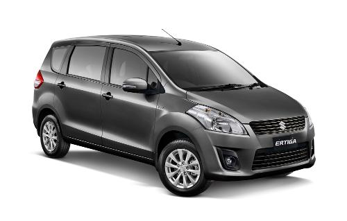 Suzuki Ertiga Graphite Gray Metallic
