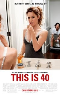 This is 40 the movie sequel to Knocked up