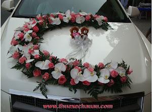 Hoa xe cưới MS003