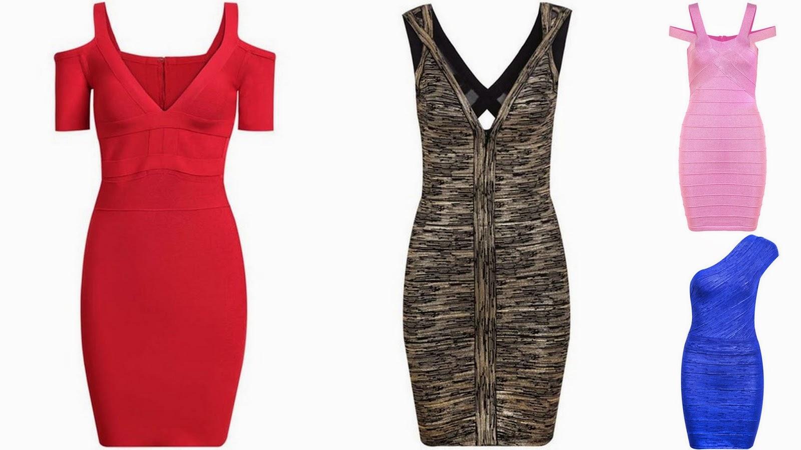 bandażowa sukienki, bandage dress, dopasowane sukienki