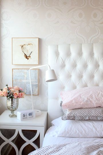 Pictures Of Pretty Bedrooms New Of White Bedrooms with Tufted Headboards Pictures