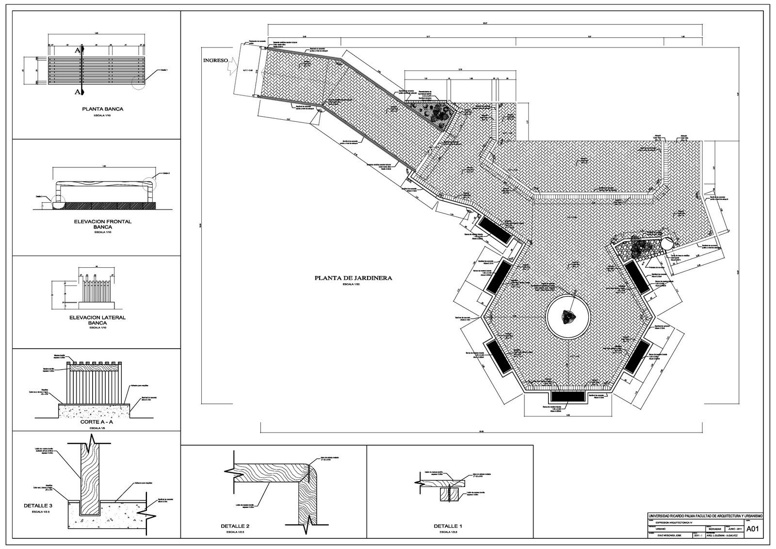 Expresi n arquitect nica 4 profile jose diaz for Mobiliario para planos