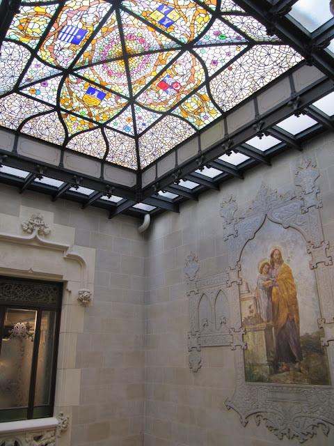 palau mornau, arquitectura modernista barcelona