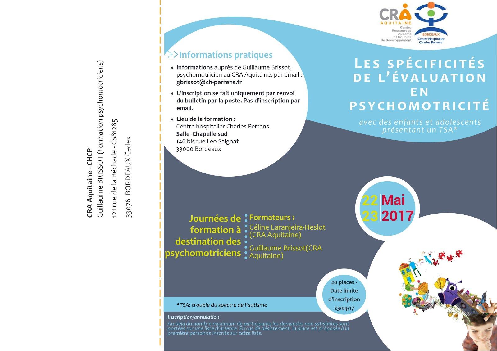 Les spécificités de l'évaluation en psychomotricité