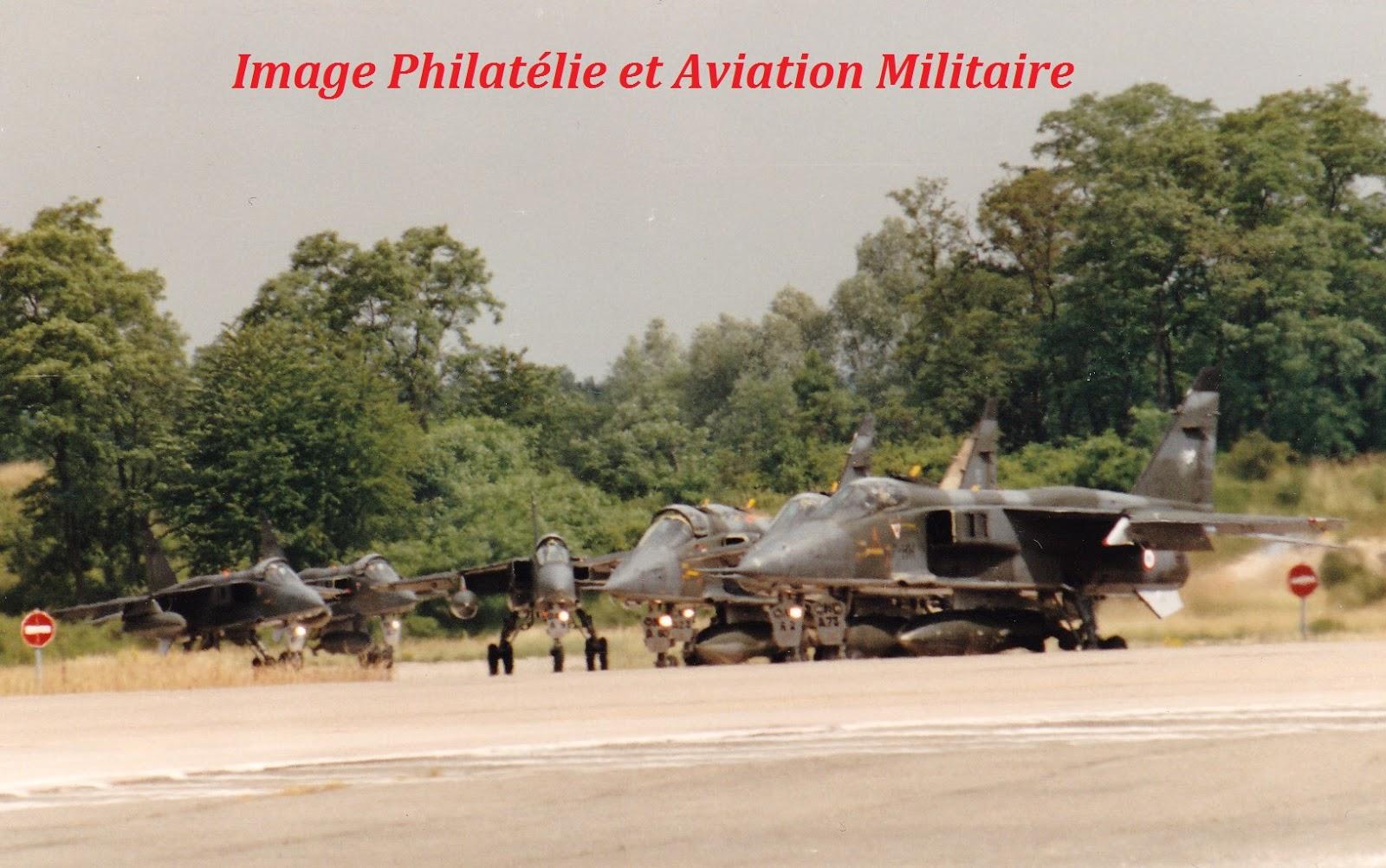 Philatelie et aviation militaire 7eme escadre de chasse - Porte ouverte base aerienne saint dizier 2017 ...
