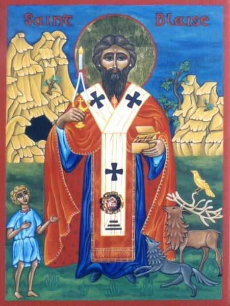 Daily Fiber from Red Kitchen: St. Blaise the guy