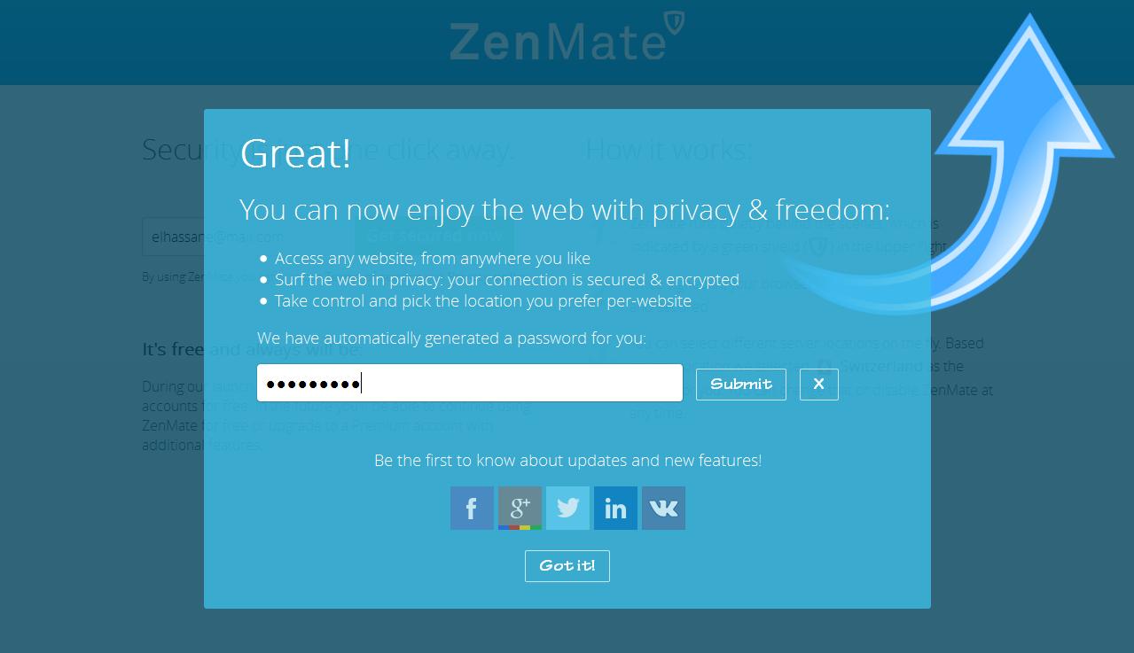 VPN مجاني 100% في متصفحك