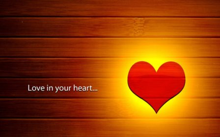 Nature wallpapers 2012 valentines day love hearts - Image of love wallpaper hd ...
