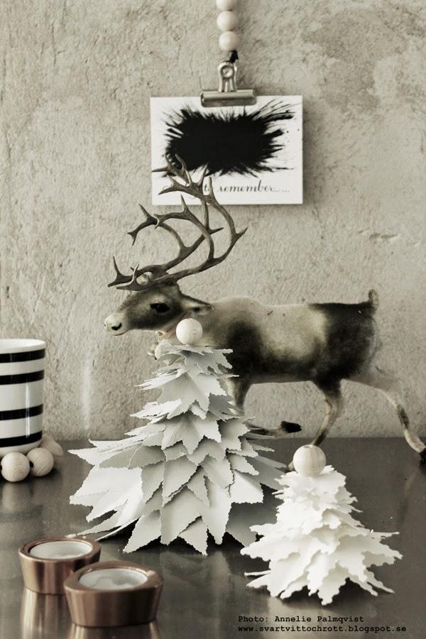 diy gran av papper, julgran, julgranar, julpyssel, pyssel, gran, granar, pappersgranar, pappersgran, kartong, träkulor, diy insipration, jul, julen 2014, julen, julens, ren, renar, träkula, styleroom, inlägg, blogg, inredningsblogg,