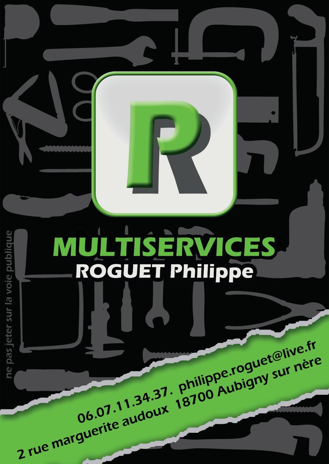 Carte De Visite Philippe Roguet Multiservices