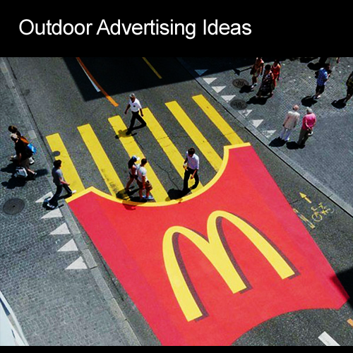 dzinegeek outdoor advertising ideas
