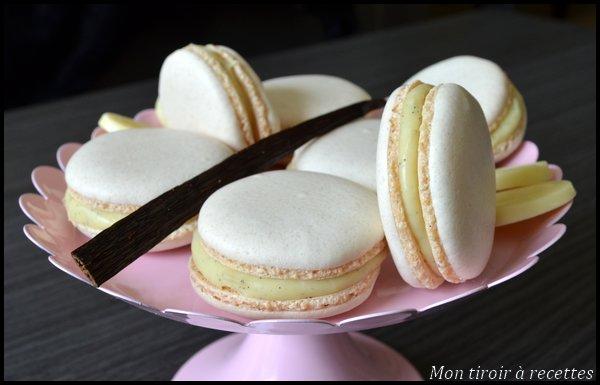 macarons infiniment vanille recette