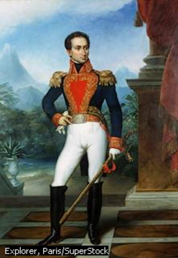 libertador simon bolivar: