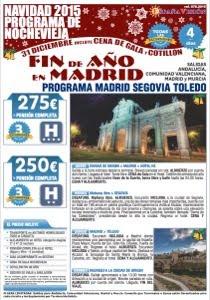 Madrid Segovia Fin de año 2015
