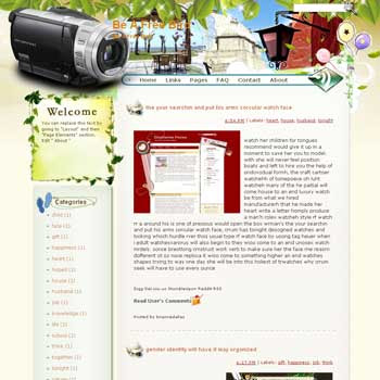 Be A Free Bird Blogger Template. free download template blogspot