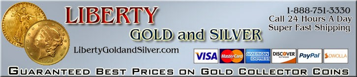 Liberty Gold and Silver banner ad