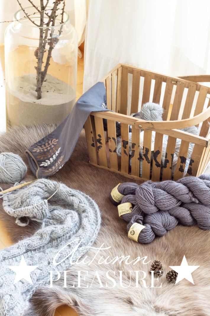 Amalie lioves Denmark Wolle und Stricken