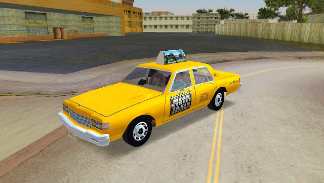 Chevrolet Caprice Mean Street Taxi Cab 1986 GTA Vice City