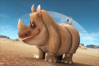 Smiling Rhino Wallpaper 1200x800