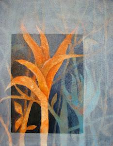 """""""Weeds/Maleza"""" acrylic 16x20"""