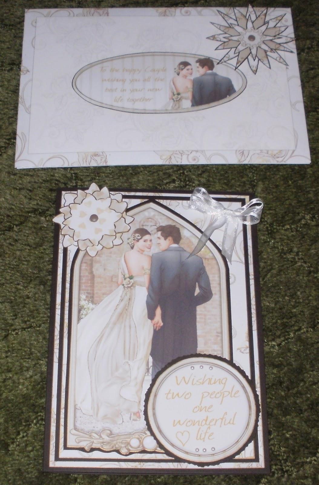 Kym S Crafty Cards Wedding Card