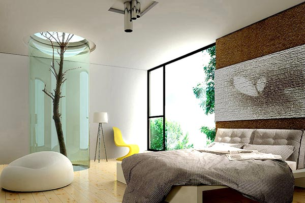 Modern and Stylish Bedroom Interior Design - INDI ZOOM