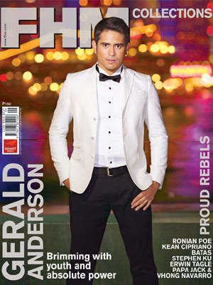 Gerald Anderson Covers FHM Collections September 2012 issue