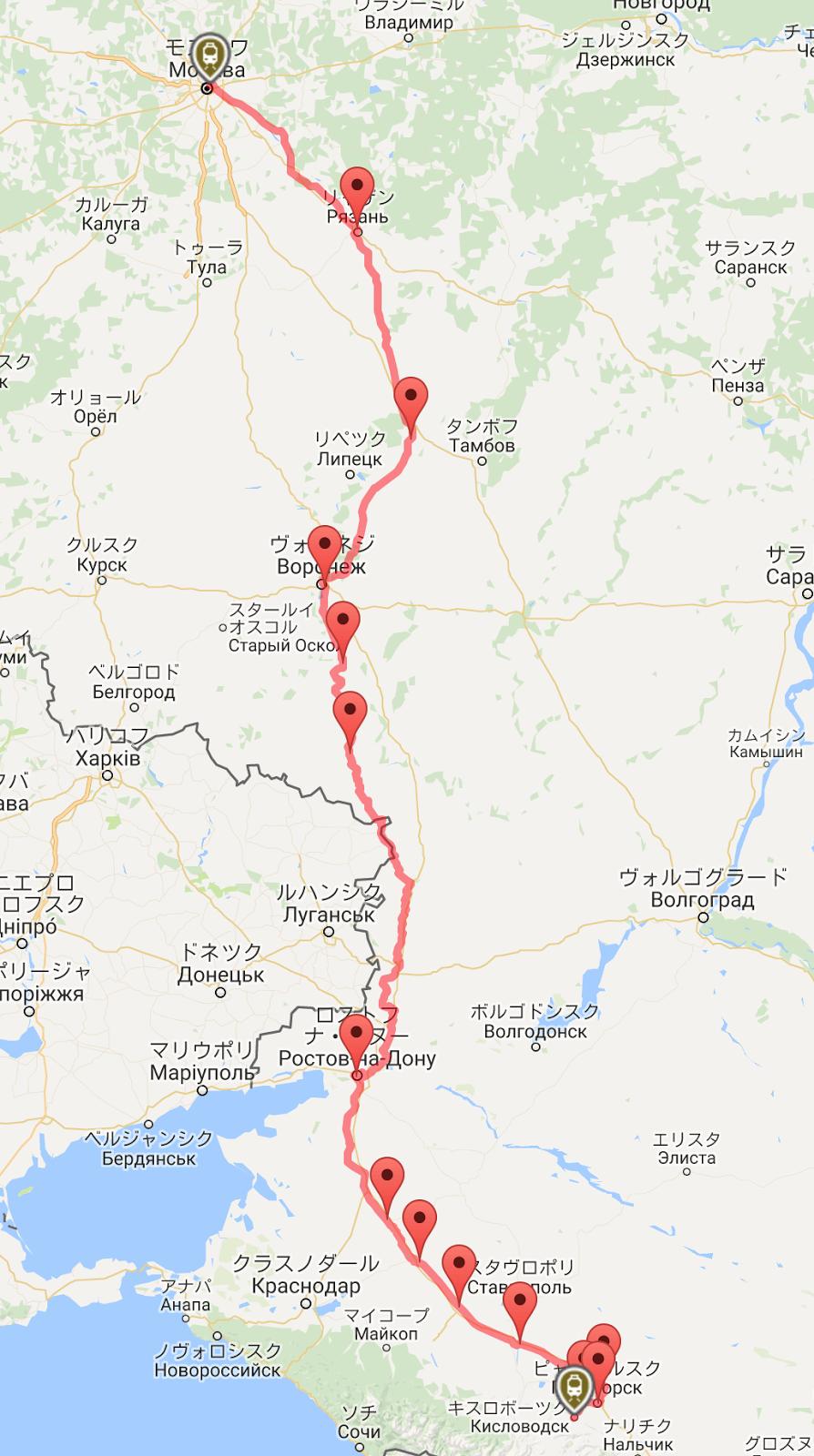 こうやのロシア東欧探訪: ロシア...