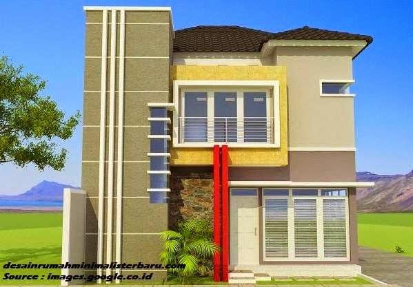 desain rumah minimalis 2 lantai 7