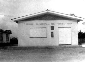 FONTE BOA (AM) - Prédio da Câmara Municipal 1984