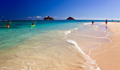 Kailua beach, Hawaii
