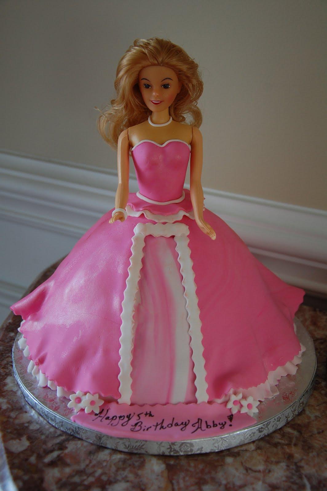 Angela Bartons Cakes Barbie Doll