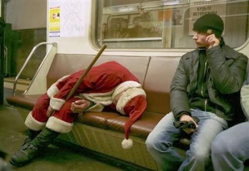 Những hình ảnh hài hước về ông già Noel