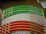 sticker velg racing 3 warna