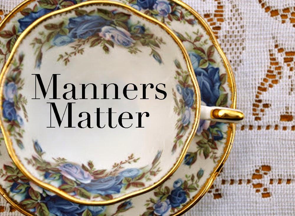 do manners matter