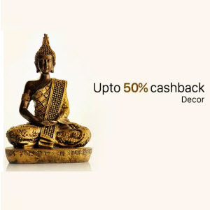 Paytm : Buy Decor And Gifts And Get At Extra 50% Cashback – BuyToEarn