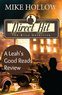 A review of the English detective novel, Direct Hit, by Mike Hollow