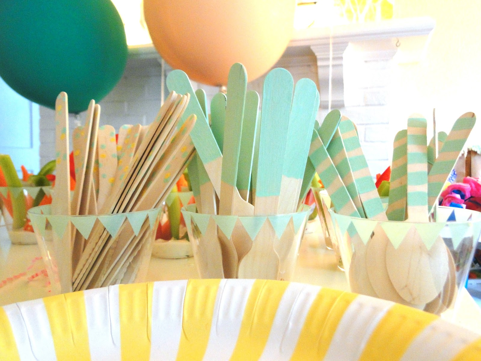 A lovely lark violet 39 s second birthday party decorations for 2nd birthday decoration ideas
