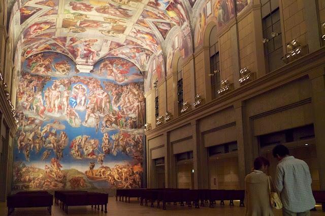 大塚国際美術館 システィーナ礼拝堂 最後の審判