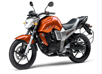 Yamaha FZ16 Orange View Left