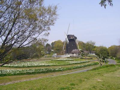 花博記念公園鶴見緑地ウォーキング・風車