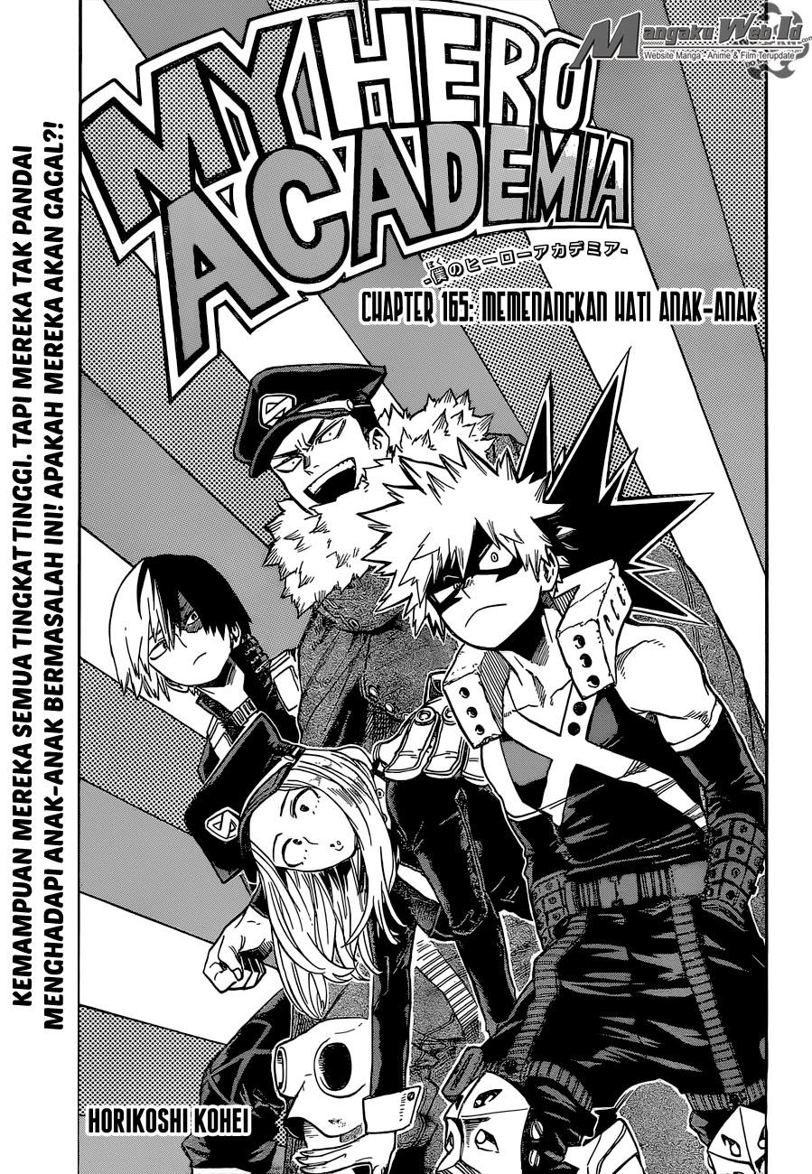 Boku no Hero Academia Chapter 165-1