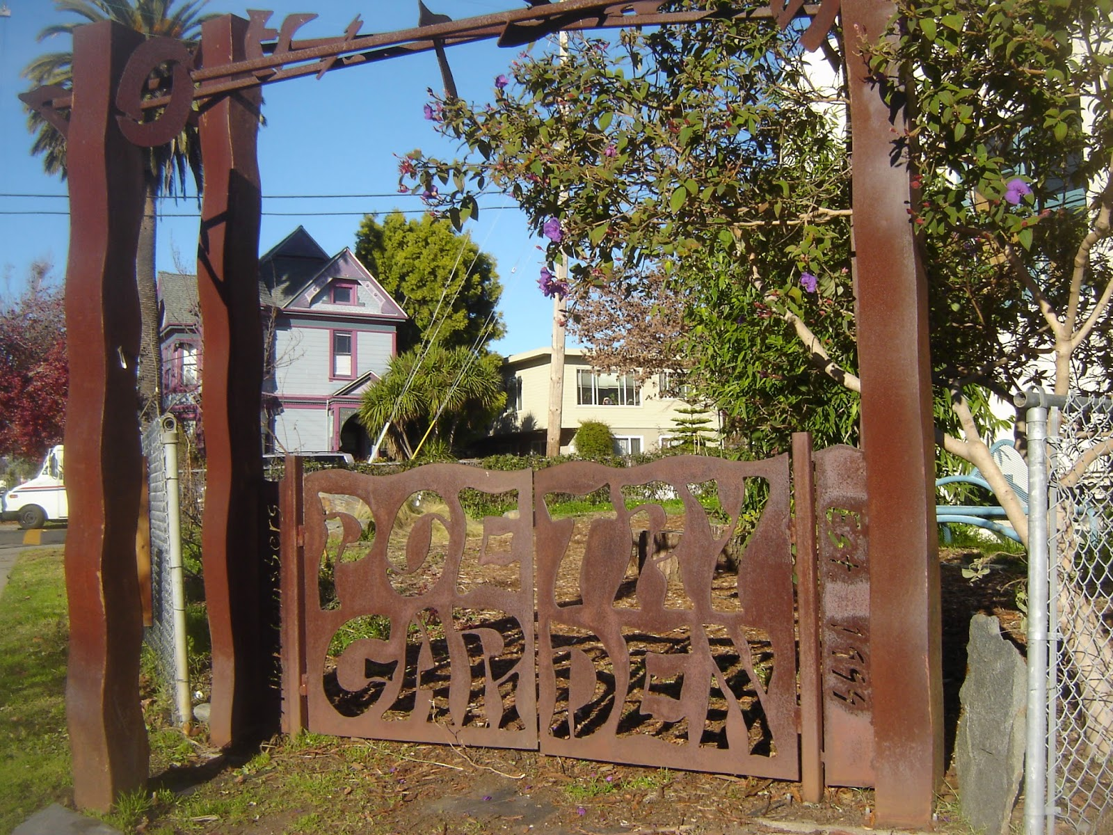 Berkeley Flaneur: The Allen Ginsberg Poetry Garden