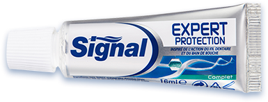 Echantillon gratuit de dentifrice Signal